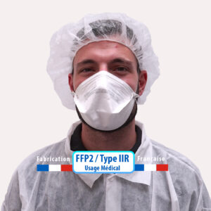 Masque FFP2 / Type IIR TexiShield - Usage médical