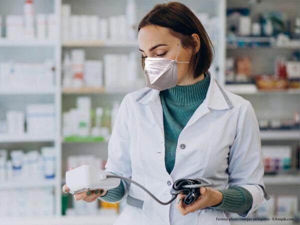 Masque FFP2 EPI - DM TexiShield pour la Pharmacie