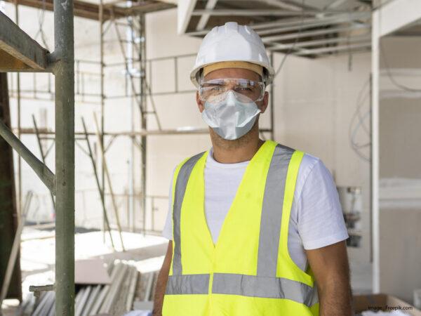 Masque FFP2 EPI TexiShield pour la construction