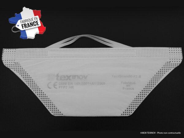 Masque FFP2 EPI TexiShield fabriqué en France
